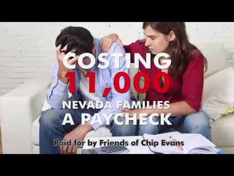 "Chip Evans 4 Congress - ""Washington is Broken"" TV Spot (English)"