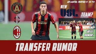 AC Milan Wants Miguel Almiron? & More ATL UTD News | Transfer Rumor
