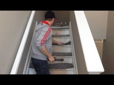 how to install carpet start to finish