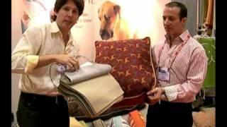 Crypton & William Wegman Dog Beds - Live at Global Pet Show