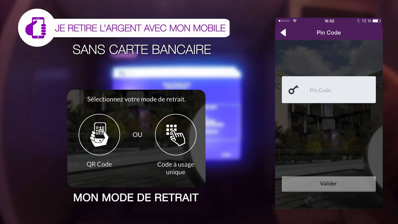 Carte Bancaire Avec Argent.Quickmoney Retirez De L Argent Sans Carte Bancaire Avec Votre Smartphone