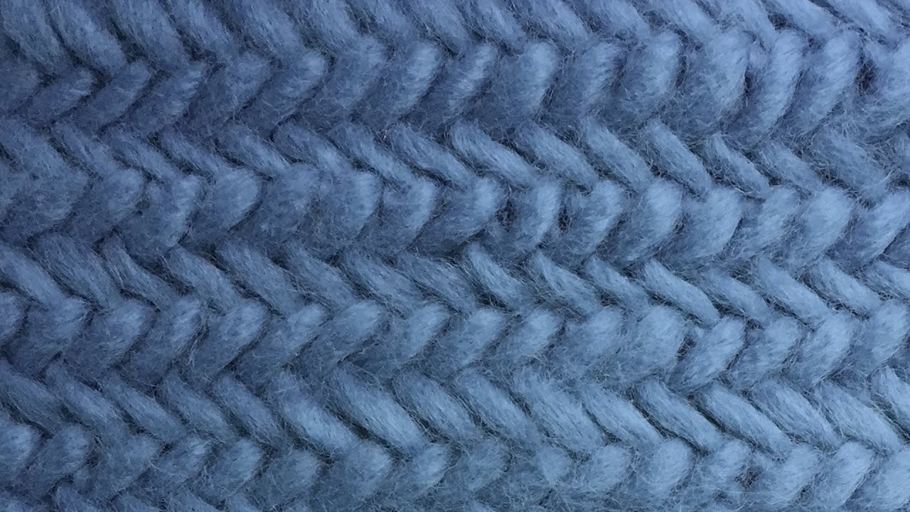 Herringbone Cowl - New Method For Working In The Round  Part 3 Of 3