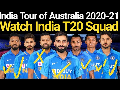 India's T20I, ODI And Test Squads For Tour Of Australia Announced | India T20 Squad Vs Australia