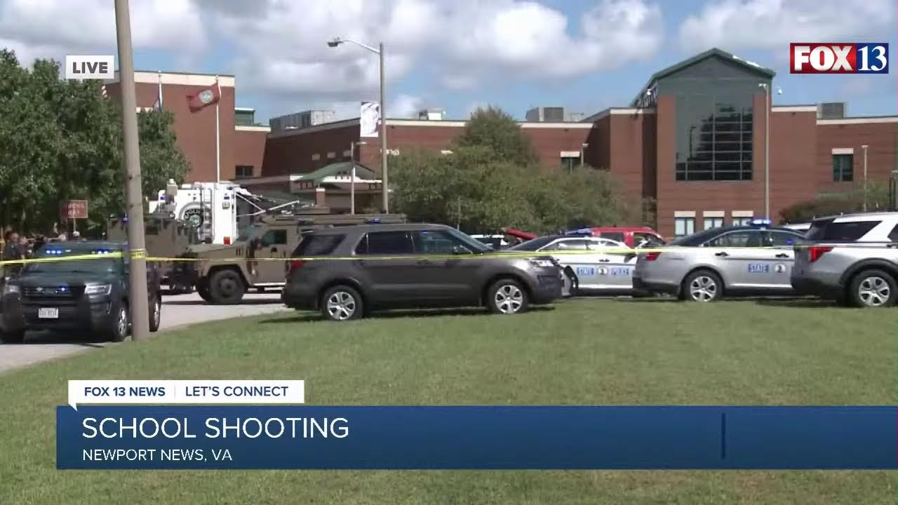 At least 2 wounded in shooting at high school in Newport News ...