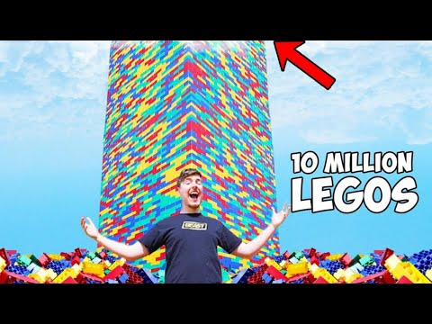Built The World's Largest Lego Tower!