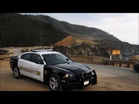 Monterey County Sheriff's Office Scanner Audio Cal Fire Chief Shot 12/11/2017