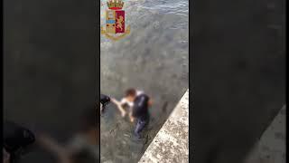 Salvataggio donna nel Mar Piccolo - Taranto