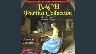 Play Partita For Keyboard No. 1 In B Flat Major, Bwv 825 (Bc L1)