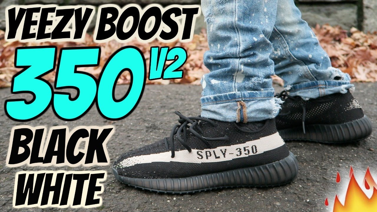 In hand look at the Core Black & Red Yeezy Boost 350 V2 (CP9652