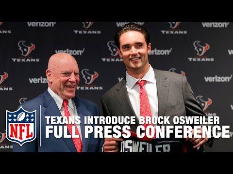Brock Osweiler Texans Press Conference (Full) | NFL News