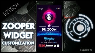 Download lagu Zooper Widget Pro Customization on any Android !