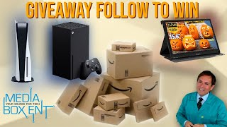 Giveaway follow mediaboxent to win
