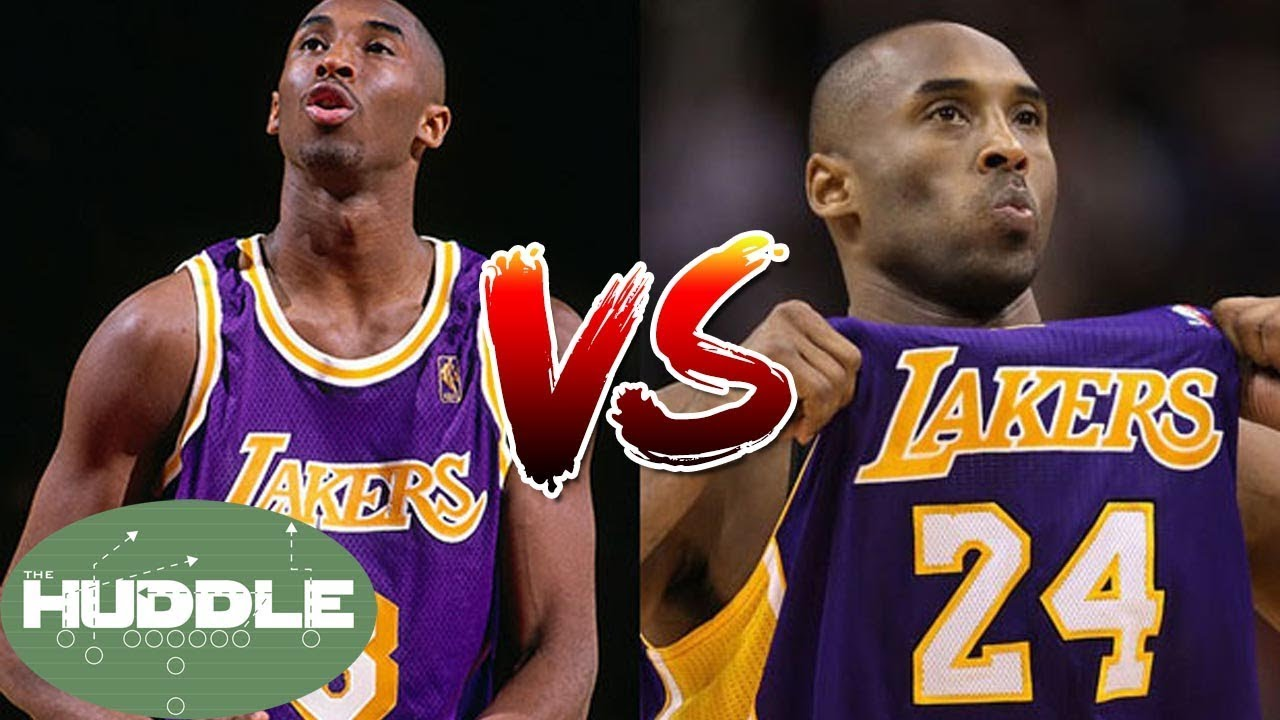 huge discount 8008b ba15d 8 vs 24: Which Version of Kobe Bryant Was Better? -The Huddle