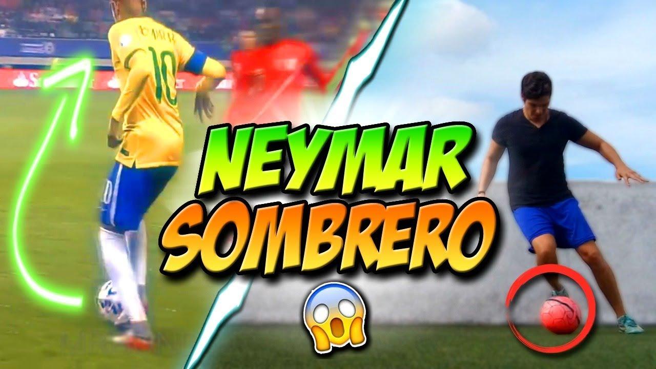 Como Burlar A Tu Rival Regate Neymar Sombrero Aprende Regates De Neymar Jr Fútbol Tutorial Youtube