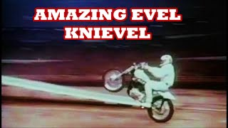LA coliseum jump 1973 EVEL KNIEVEL AMAZING!!