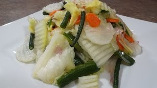 Pickled Mixed Vegetables Recipe
