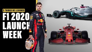 Best of F1 2020 Launch Week | 5 Things You Need To Know | Crash.net