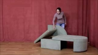 видео Выкатные диваны — стильная мебель для любого интерьера