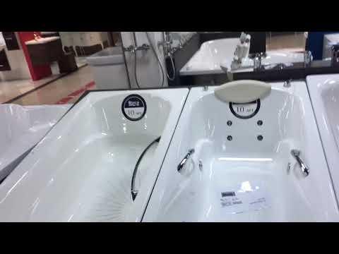 Видео Чугунные ванны roca