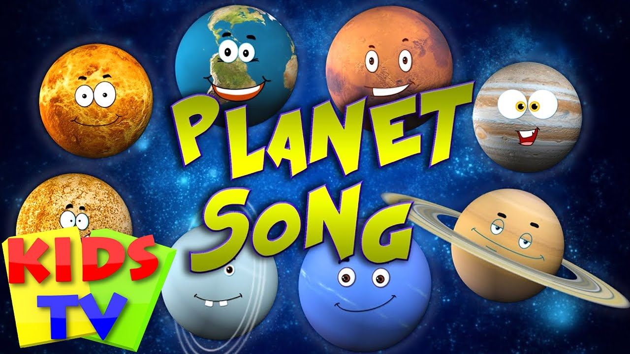 Planet Song Solar System Song YouTube - States of america song youtube