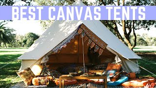 Best Canvas Tents F๐r Camping | Heavy Duty Tents 2019