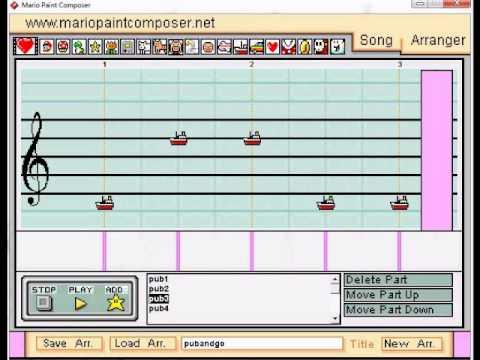 APH Pub and GO! - Mario Paint Composer