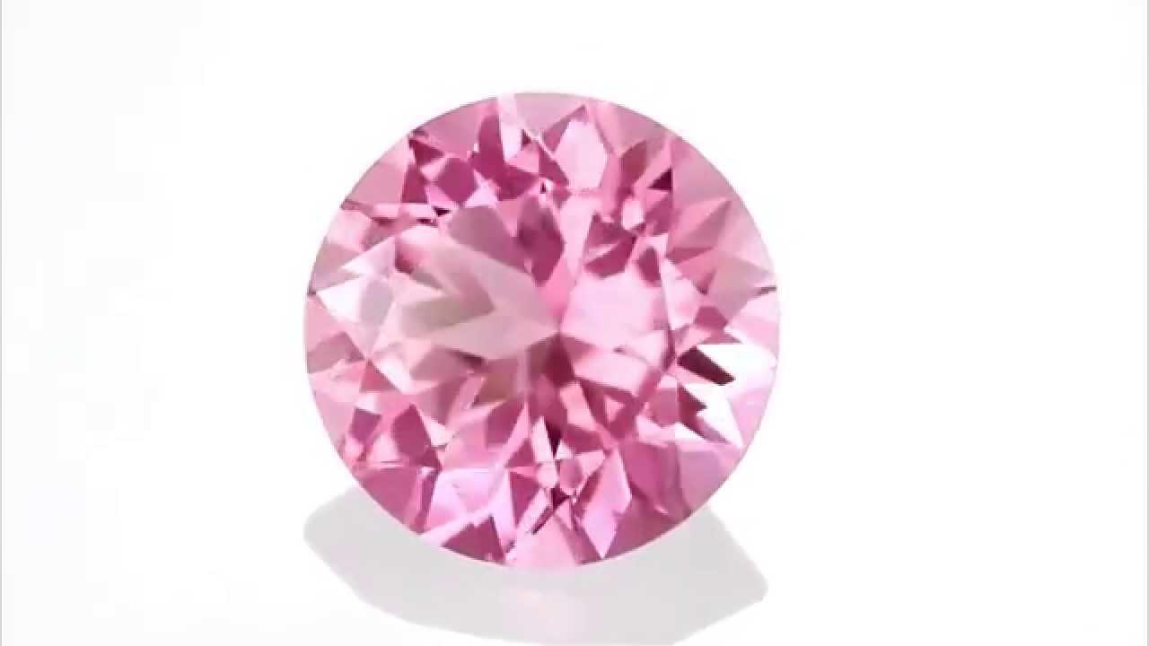 what a gem soft pink tourmaline gemstone from