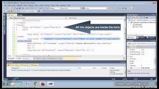 Build a test ASP.NET page using Visual Studio 2010 - Part II