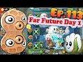 Plants vs. Zombies 2 (China) - Unlocked 2 new Plants - Far Future Day 1 (Ep.113)