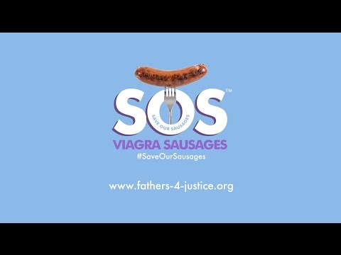 Fathers4Justice cook up their Save Our Sausages campaign