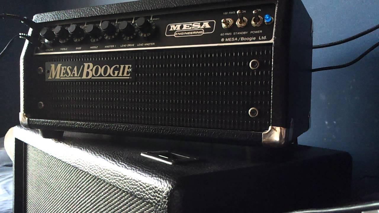 Mesa Boogie Mark III Blue Stripe - YouTube