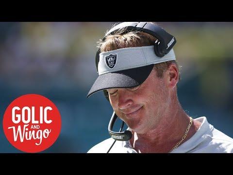 NFL Week 3 breakdown: Dolphins vs. Raiders, Jon Gruden's 7-game losing streak   Golic & Wingo   ESPN