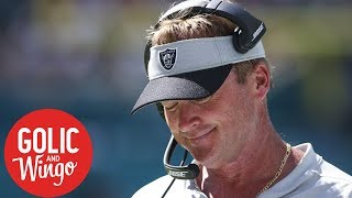 NFL Week 3 breakdown: Dolphins vs. Raiders, Jon Gruden's 7-game losing streak | Golic & Wingo | ESPN