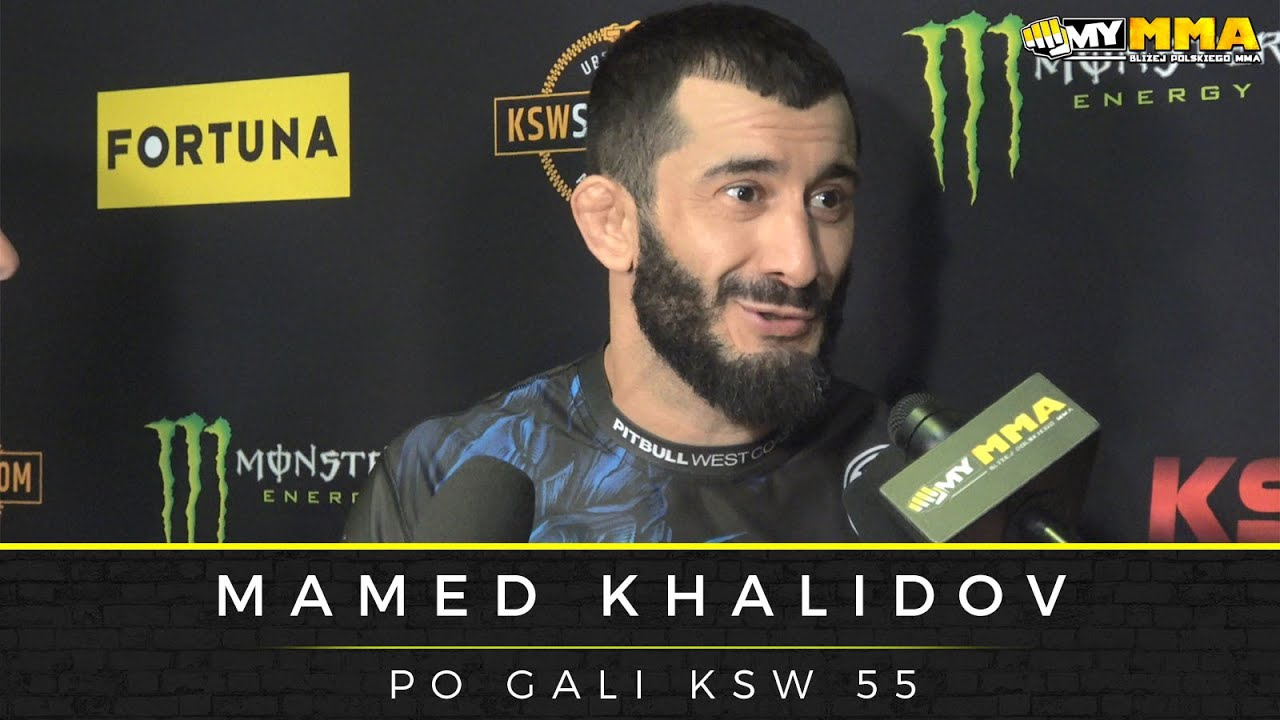 Download Mamed Khalidov nokautuje Scotta Askhama na gali KSW 55