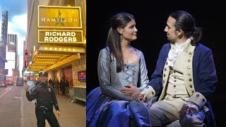 Why This NYPD Police Officer Helped Pay For Tourist's 'Hamilton' Tickets