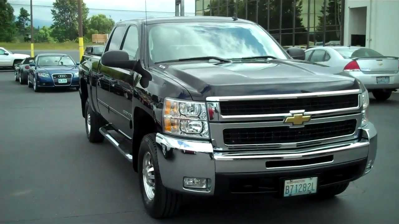 All Chevy chevy 2500hd texas edition : 2009 Chevy 2500 Crew Cab Vortec 6.0 4x4 - YouTube