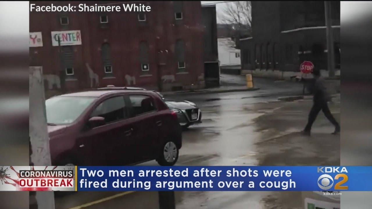 2 Men Arrested After Shots Fired During Argument Over A Cough