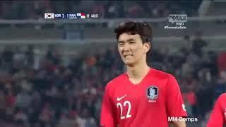 South Korea vs Panama 2-2 All Goals & Highlights 16/10/2018