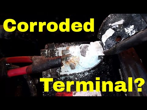 Corroded Battery Terminals on your car?  You need to do this!