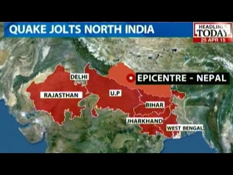 Massive Earth Quake Of Magnitude 7.4 Hits Northern India