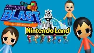 NintendoLand: Metroid Blast Gameplay HD!!