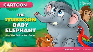 The Stubborn Baby Elephant Bedtime Stories for Kids