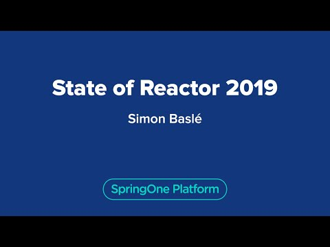 State of Reactor 2019