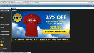 How to Create a Newsfeed Ad - Tshirt Ad Builder - Teespring Or More