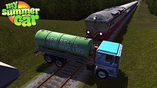 My Summer Car Stopping The Train