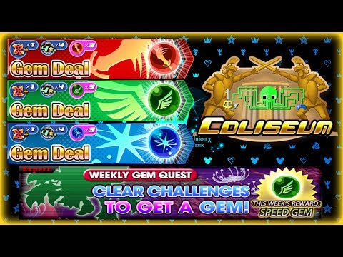 KH Union χ[Cross] New Update and Coliseum Results ~ Weekly Jewels is Back!
