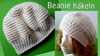 Einfache Mütze Häkeln Für Anfänger Mit Dünner Wolle