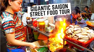 UNREAL STREET FOOD in Vietnam   Vietnamese SEAFOOD feast   Best street food in Ho Chi Minh City
