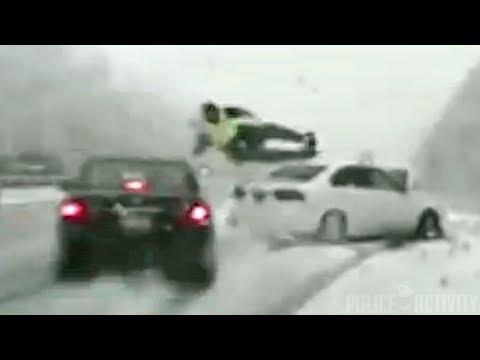 Car Hits Utah Trooper And Throws Him Into The Air