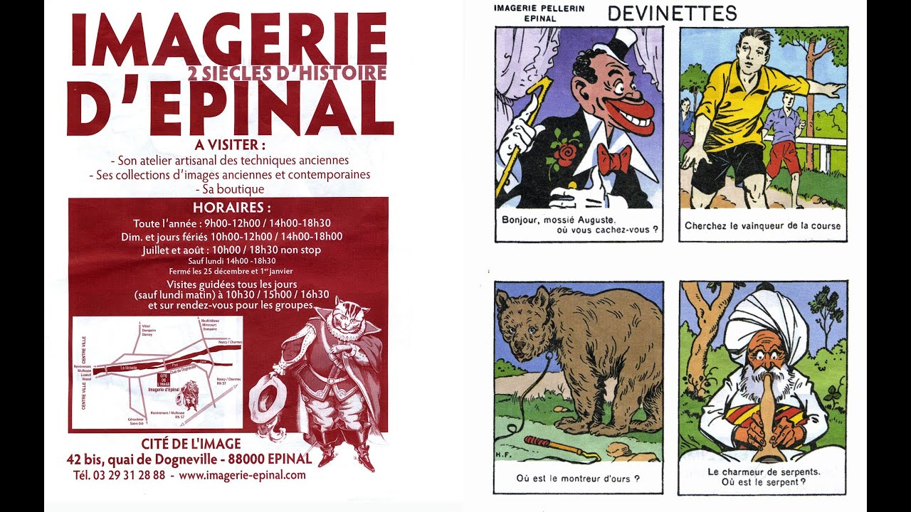 L Imagerie D Epinal 22 Mars 2012 Youtube
